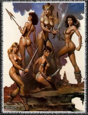 Воинственные Амазонки