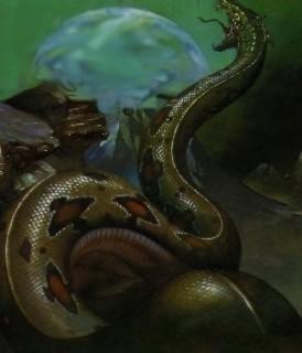 Basilisk (Василиск, Король змей) - большая, действительно большая змея...